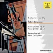Schumann: Piano Quartet, Op. 47 & Piano Quintet, Op. 44 von Auryn-Quartet