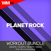 Planet Rock (Workout Bundle / Even 32 Count Phrasing) by Workout Music Tv