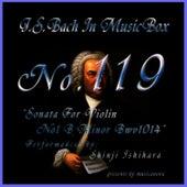 Bach In Musical Box 118 / Sonata For Violin No1 B Minor Bwv1014 de Shinji Ishihara