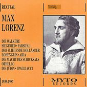 Wagner, Verdi & Others: Vocal Works de Max Lorenz