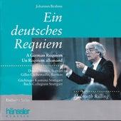 Brahms: A German Requiem, Op. 45 by Gächinger Kantorei