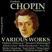 Chopin, Vol. 11 : Various Works (Award Winners) de Various Artists