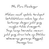 RENUNGAN KAMAR MANDI The Album by Agung Segara