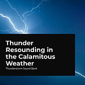 Thunder Resounding in the Calamitous Weather von Thunderstorm Sound Bank