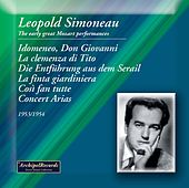 Mozart: Opera Works de Léopold Simoneau
