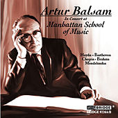 Haydn, Beethoven, Chopin & Others: Piano Works (Live) by Artur Balsam