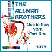 Live in New York 1978 Part One (Live) by The Allman Brothers Band