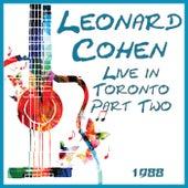 Live in Toronto 1988 Part Two (Live) de Leonard Cohen
