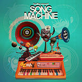 Song Machine: Strange Timez (feat. Robert Smith) von Gorillaz