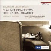 Stamitz, C.: Concerto for 2 Clarinets No. 4 / Orchestral Quartet in G Major / Stamitz, J.: Clarinet Concerto in B Flat Major von Various Artists