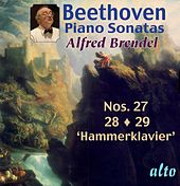 """Beethoven: Piano Sonatas Nos. 27 –28 – 29 (""""Hammerklavier"""") by Alfred Brendel"""