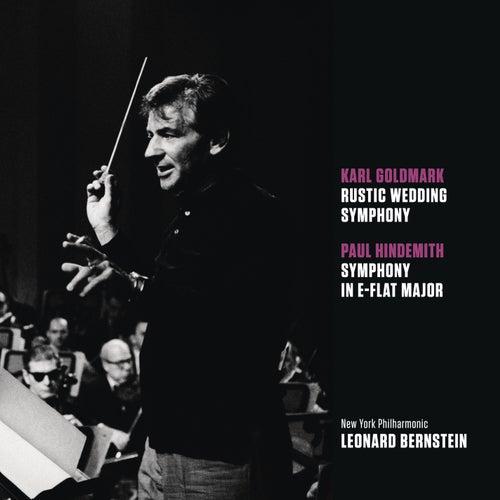 Goldmark: Rustic Wedding Symphony, op. 26; Hindemith: Symphony in E-flat major by Leonard Bernstein