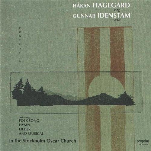 Hagegard, Hakan: Contrasts by Hakan Hagegard