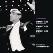 Haydn: Symphonies Nos. 85-87 by Leonard Bernstein, Hildegard Behrens, Peter Hofmann, Yvonne Minton, Bernd Weikl, Hans Sotin, Symphonieorchester des Bayerischen Rundfunks