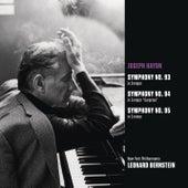 Haydn: Symphonies Nos. 93-95 by Leonard Bernstein
