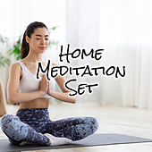 Home Meditation Set – White Noise for Deep Concentration, Yoga, Inner Energy, Happy Heart, Healing Activation Sounds, Mantra Om, Just Calm by Meditation Zen Meditation