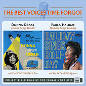 Donna Sings Dinah / Haliday Sings Holiday by Donna Drake