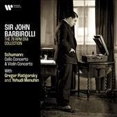 Schumann: Cello Concerto & Violin Concerto de Gregor Piatigorsky