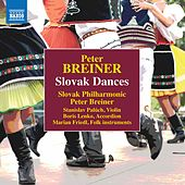 Peter Breiner: Slovak Dances, Naughty & Sad de Slovak Philharmonic Orchestra