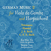 German Music for Viola da Gamba and Harpsichord by Sonia Lee