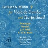 German Music for Viola da Gamba and Harpsichord von Sonia Lee