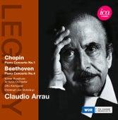 Chopin: Piano Concerto No. 1 - Beethoven: Piano Concerto No. 4 von Claudio Arrau