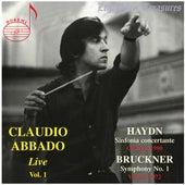 Claudio Abbado, Vol. 1: Bruckner & Haydn (Live) de Claudio Abbado