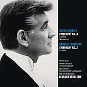 Mahler: Symphony No. 3 in D minor (Movt. VI); Randall Thompson: Symphony No. 2 in E minor von Leonard Bernstein
