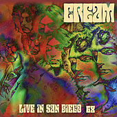 Live in San Diego '68 de Cream
