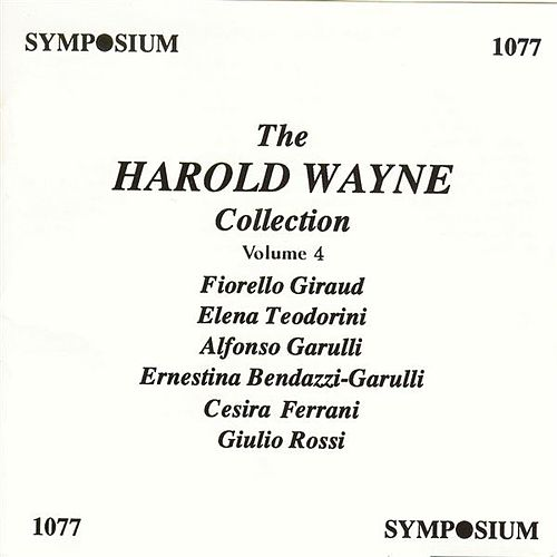 The Harold Wayne Collection, Vol. 4 (1902-1904) by Various Artists