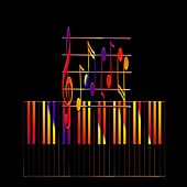 Piano At Night de Alonzo