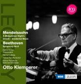 Mendelssohn: A Midsummer Night's Dream - Beethoven: Symphony No. 8 by Otto Klemperer