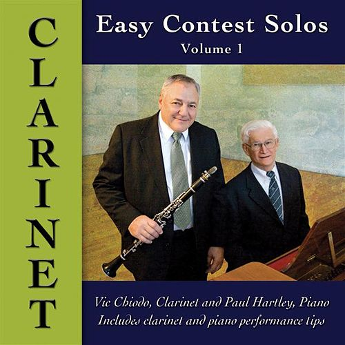 Easy Contest Solos, Vol. 1 by Vic Chiodo