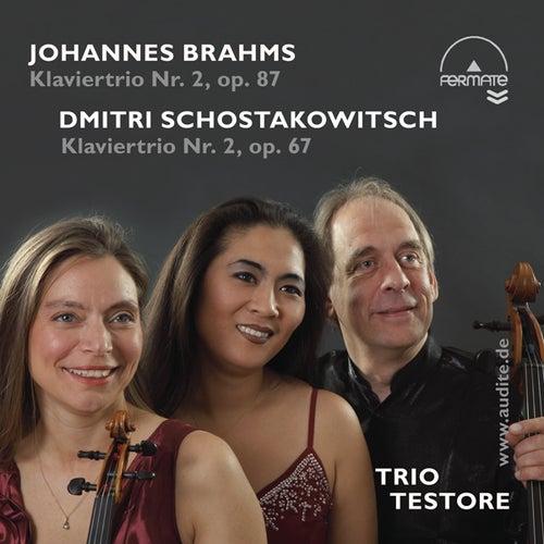 Piano Trios by Brahms (Op. 87) & Schostakowitsch (Op. 67) de Trio Testore