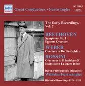 Beethoven, L. Van: Symphony No. 5 / Egmont Overture / Weber, C.M. Von: Der Freischutz Overture (Furtwangler, Early Recordings, Vol. 2) (1926-1935) von Wilhelm Furtwängler
