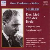 Mahler: Lied Von Der Erde (Das) (Walter) (1936-1938) de Various Artists