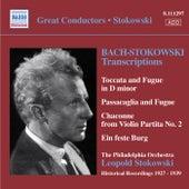 Bach, J.S.: Stokowski Transcriptions, Vol. 1 (Stokowski) (1927-1939) de Leopold Stokowski