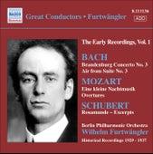 Bach, J.S.: Brandenburg Concerto No. 3 / Mozart, W.A.: Eine Kleine Nachtmusik / Schubert: Rosamunde (Excerpts) von Wilhelm Furtwängler