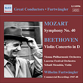 Mozart: Symphony No. 40 / Beethoven: Violin Concerto von Various Artists