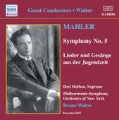 Mahler: Symphony No. 5 / Lieder Und Gesange Aus Der Jugendzeit (Walter) (1947) de Various Artists