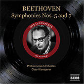 Beethoven: Symphonies Nos. 5 and 7 (Klemperer) (1955) by Otto Klemperer