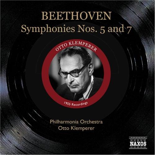 Beethoven: Symphonies Nos. 5 and 7 (Klemperer) (1955) von Otto Klemperer
