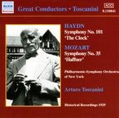 Haydn / Mozart: Symphonies (Toscanini) (1929) by Arturo Toscanini