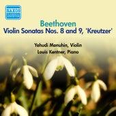 Beethoven, L. Van: Violin Sonata Nos. 8 and 9 (Menuhin, Kentner) (1956) by Yehudi Menuhin