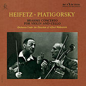 Brahms: Concerto in A Minor for Violin and Cello, Op. 102 by Jascha Heifetz