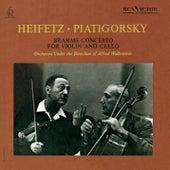 Brahms: Concerto in A Minor for Violin and Cello, Op. 102 de Jascha Heifetz