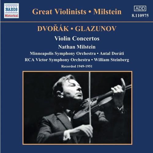 Dvorak / Glazunov: Violin Concertos (Milstein) (1949-1951) by Nathan Milstein