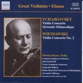 Tchaikovsky / Wieniawski: Violin Concertos (Elman) (1929, 1950) by Mischa Elman