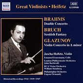 Brahms / Glazunov: Violin Concertos (Heifetz) (1934, 1939) by Jascha Heifetz