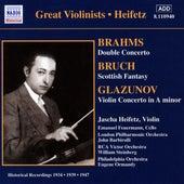 Brahms / Glazunov: Violin Concertos (Heifetz) (1934, 1939) de Jascha Heifetz